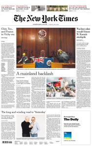 International New York Times - 2 July 2019