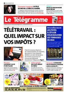 Le Télégramme Quimper – 22 avril 2021