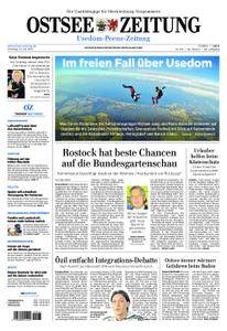 Ostsee Zeitung Wolgast - 24. Juli 2018