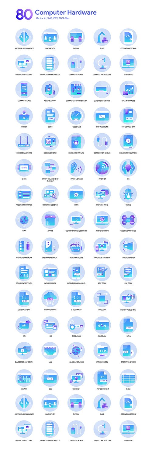 80 Computer Icons