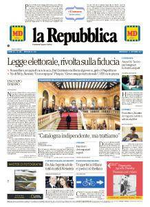 la Repubblica - 11 Ottobre 2017