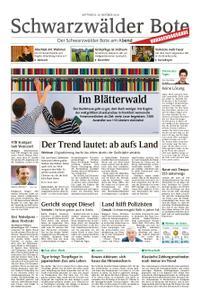 Schwarzwälder Bote Hechingen - 10. Oktober 2018