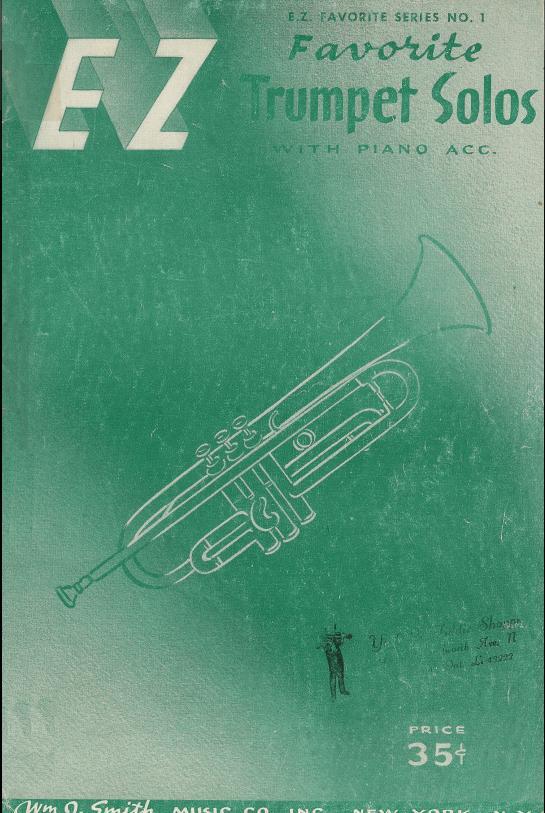 EZ - Favorite Trumpet Solos with piano acc