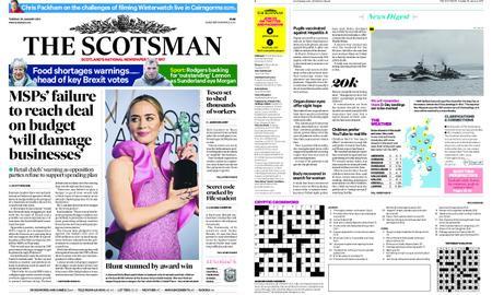 The Scotsman – January 29, 2019