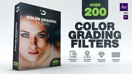 200 Color Grading Filters - Project for After Effects (VideoHive) 22564634