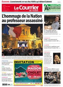 Le Courrier de l'Ouest Cholet – 22 octobre 2020