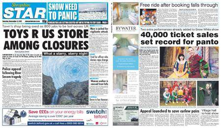 Shropshire Star Shrewsbury Edition – December 05, 2017