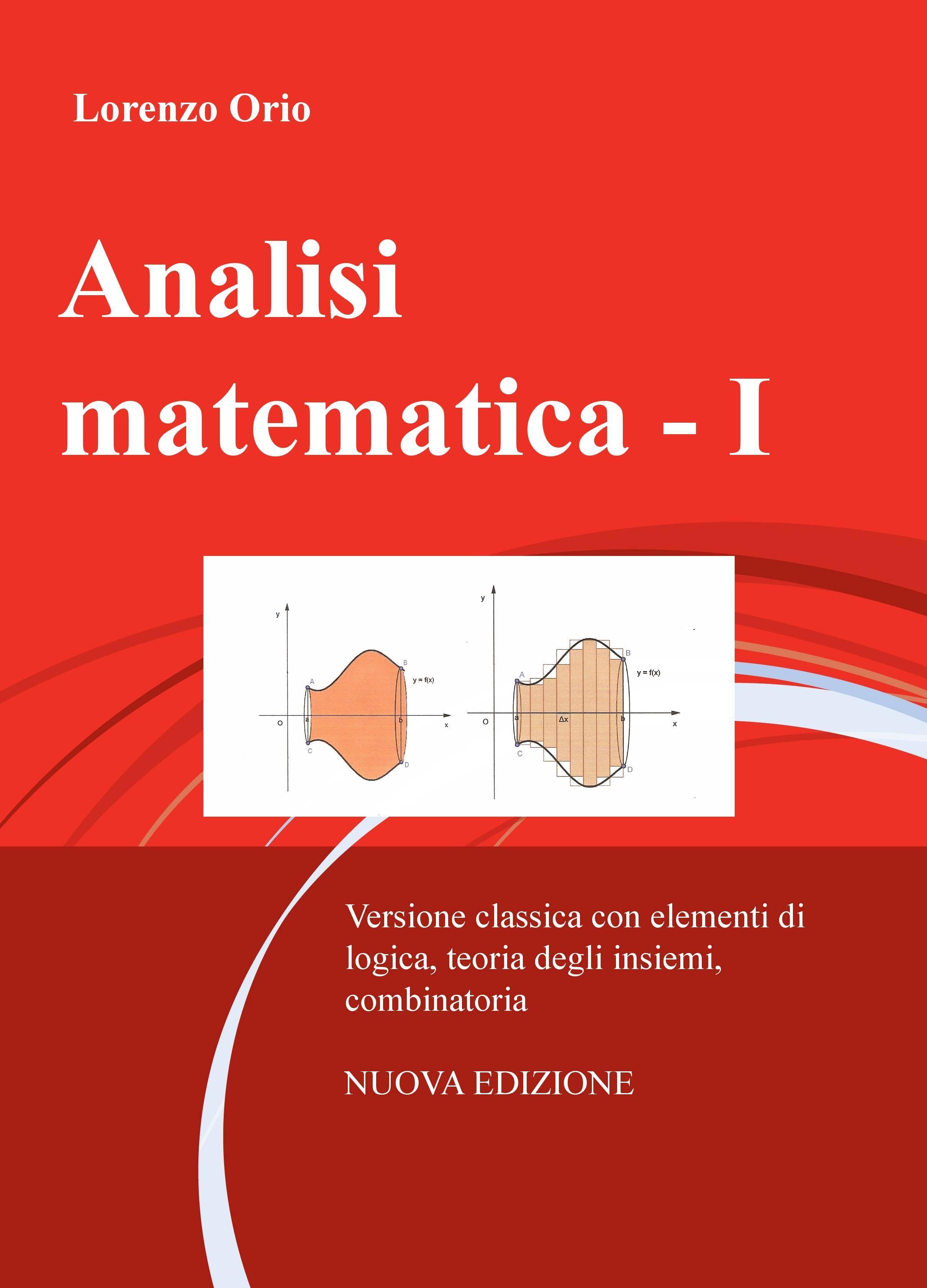 Analisi matematica – I