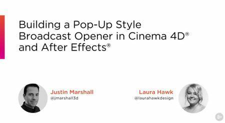 Building a Pop-up Style Broadcast Opener in CINEMA 4D and After Effects