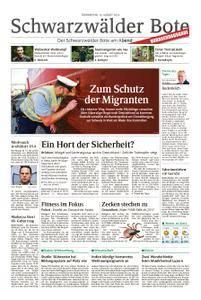 Schwarzwälder Bote Hechingen - 16. August 2018