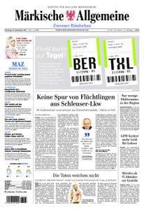 Märkische Allgemeine Zossener Rundschau - 19. September 2017
