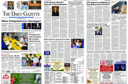 The Daily Gazette – October 23, 2020
