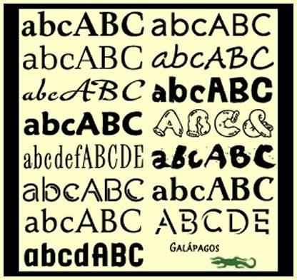 Galapagos Design Group Fonts