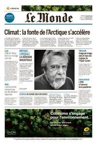 Le Monde du Mercredi 23 Septembre 2020