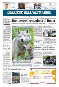 Corriere dell'Alto Adige - 6 Luglio 2018