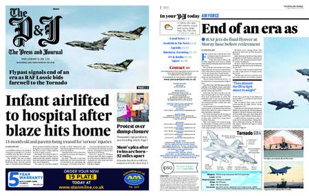 The Press and Journal Moray – February 22, 2019