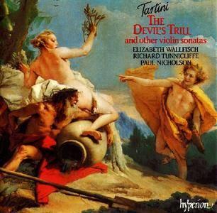 Elizabeth Wallfisch, The Locatelli Trio - Tartini: The Devil's Trill & other violin sonatas (1991)