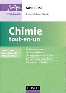 Chimie tout-en-un MPSI-PTSI - 2e édition