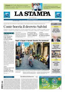 La Stampa Imperia e Sanremo - 18 Maggio 2019