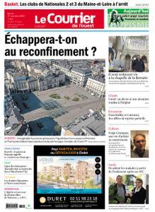 Le Courrier de l'Ouest Cholet – 27 octobre 2020
