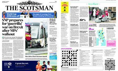 The Scotsman – June 14, 2018