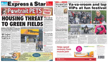 Express and Star Sandwell Edition – April 29, 2019