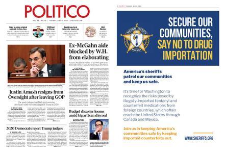 Politico – July 09, 2019