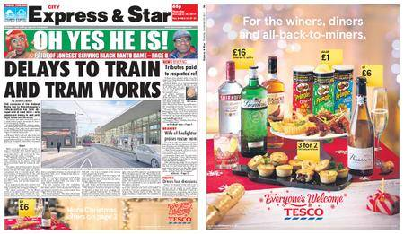 Express and Star City Edition – December 28, 2017