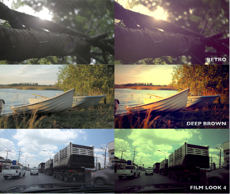 mLooks 1 & 2 - Presets Collection for Final Cut Pro X & Adobe