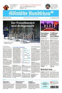 Kölnische Rundschau Köln-West – 29. Oktober 2020