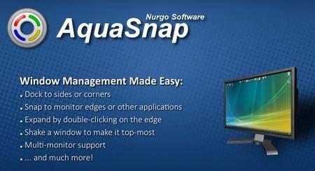 AquaSnap Pro 1.23.7 Multilingual Portable