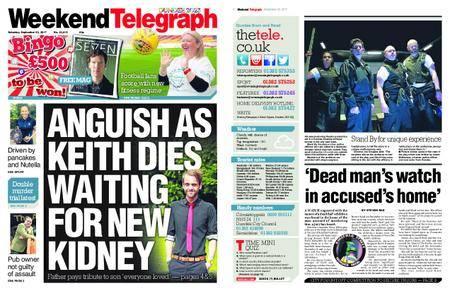 Evening Telegraph First Edition – September 23, 2017