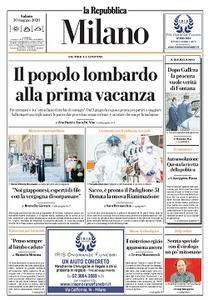 la Repubblica Milano - 30 Maggio 2020