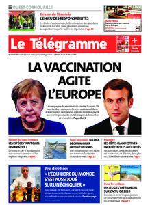 Le Télégramme Ouest Cornouaille – 06 janvier 2021