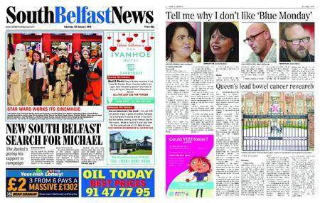 South Belfast News – January 19, 2018