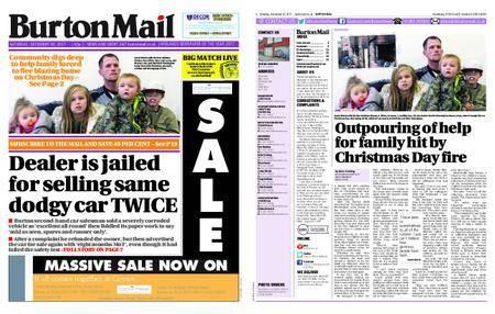 Burton Mail – December 30, 2017