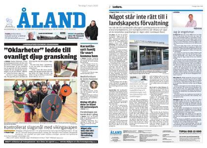 Ålandstidningen – 05 mars 2020