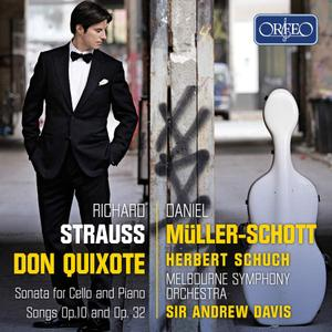 Daniel Müller-Schott - Strauss: Don Quixote, Sonata for cello and piano, Songs Opp. 10 & 32 (2019)