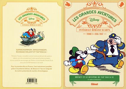 Disney - Les Grandes Aventures - L'intégrale de Romano Scarpa - Tome 2 - 1956-1957 - Mickey et le My...