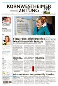 Kornwestheimer Zeitung - 26. September 2018