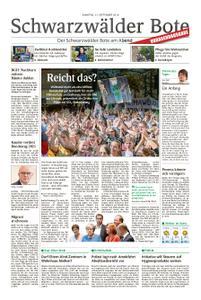 Schwarzwälder Bote Hechingen - 21. September 2019