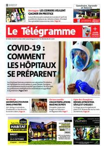 Le Télégramme Brest – 02 octobre 2020