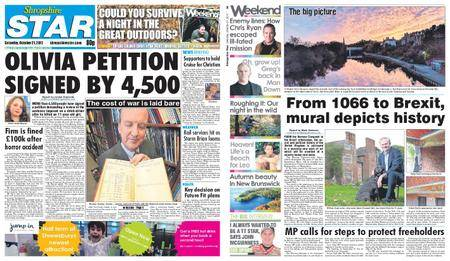 Shropshire Star Shrewsbury Edition – October 21, 2017