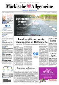 Märkische Allgemeine Zossener Rundschau - 12. April 2019