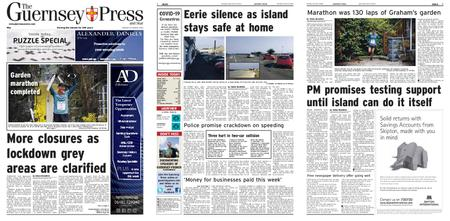 The Guernsey Press – 30 March 2020
