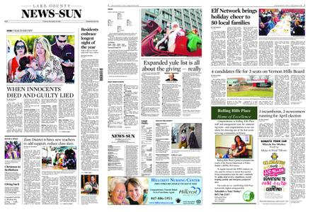 Lake County News-Sun – December 25, 2018