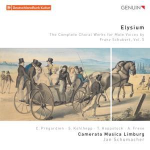 Camerata Musica Limburg & Jan Schumacher - Elysium: The Complete Choral Works for Male Voices by Franz Schubert, Vol. 5 (2019)