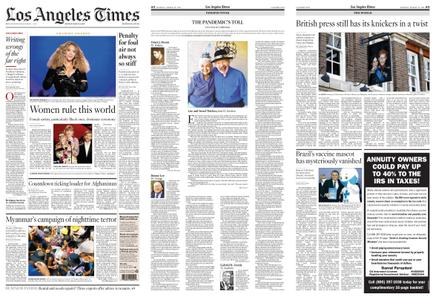 Los Angeles Times – March 15, 2021