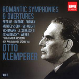 Otto Klemperer - Romantic Symphonies & Overtures (2012) (10CD Box Set) (REPOST)