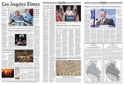 Los Angeles Times – May 13, 2020